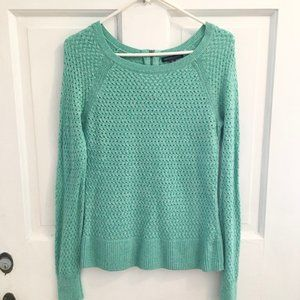 WOMEN'S NEW! A.E.O. Woven Sweater SIZE XS